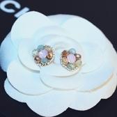 耳環 玫瑰金純銀珍珠-甜美好搭生日情人節禮物女飾品73ca258【時尚巴黎】
