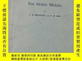 二手書博民逛書店Alloy罕見Phases of the Noble Metal