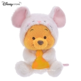 日本限定 迪士尼商店 Disney Store 新年 小熊維尼 鼠年 玩偶娃娃 15cm