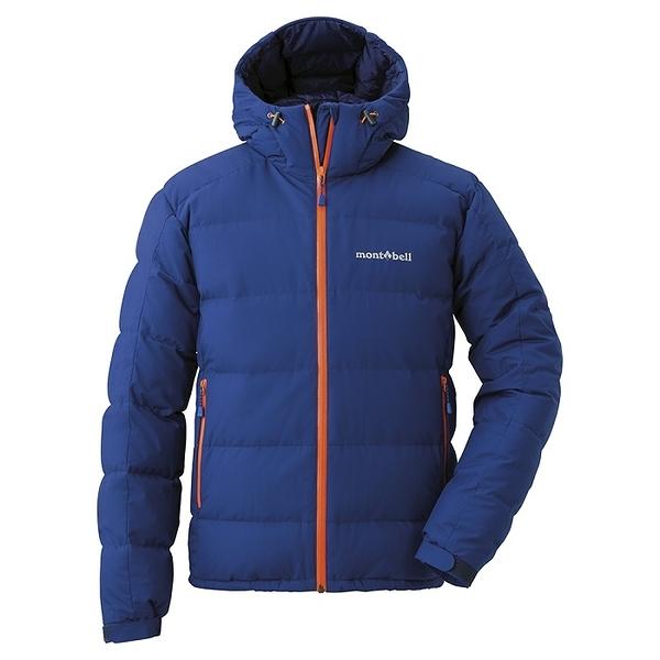 日本 MONT-BELL Permafrost Light Down Parka 新款 羽絨背心/羽毛衣/羽絨衣/雪衣/800FP 男款 1101501 IKBL 錠藍