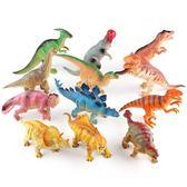 12個一套過家家仿真軟膠會叫恐龍玩具益智寶寶安全恐龍模型玩具igo 衣櫥の秘密