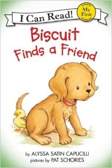(An I Can Read系列  My First )  BISCUIT FINDS A FRIEND   /讀本