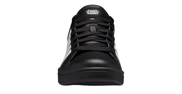 【K-SWISS】時尚運動鞋 Court Winston-男-黑/白(06154-044)