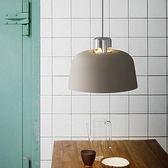 大地色系馬卡龍創意金屬餐吊燈 棕色 TA8868