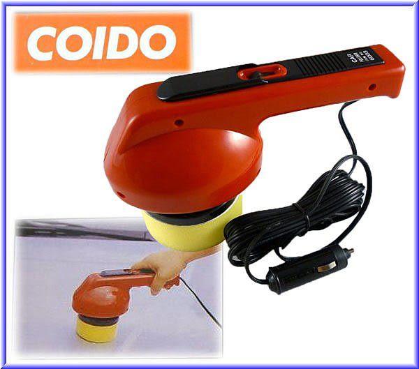 【吉特汽車百貨】- COIDO 輕巧型 打蠟機6003(一組價)12V 保固1年~ 嚴選最高品質