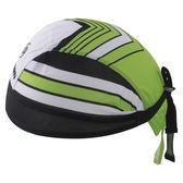 自行車頭巾 抗紫外線-綠谷箭頭紋路設計男女單車運動頭巾73fo68[時尚巴黎]
