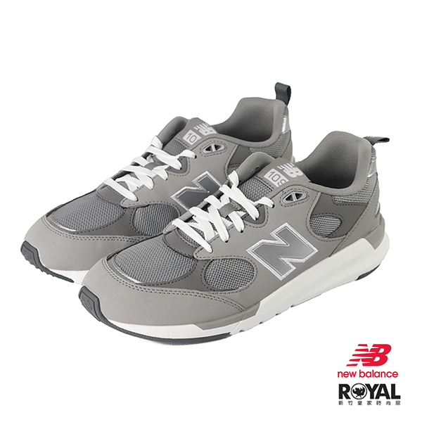 New Balance 109 灰色 皮質 休閒運動鞋 男款 NO.B1127【新竹皇家 MS109LC1】