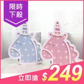 北歐木質獨角獸LED小夜燈(1入) 顏色可選【小三美日】原價$330
