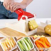 土豆條切條器多功能薯條切塊機 家用手動不銹鋼切蘿卜神器 生活樂事館