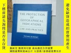 二手書博民逛書店罕見實拍;The Protection of Geographi