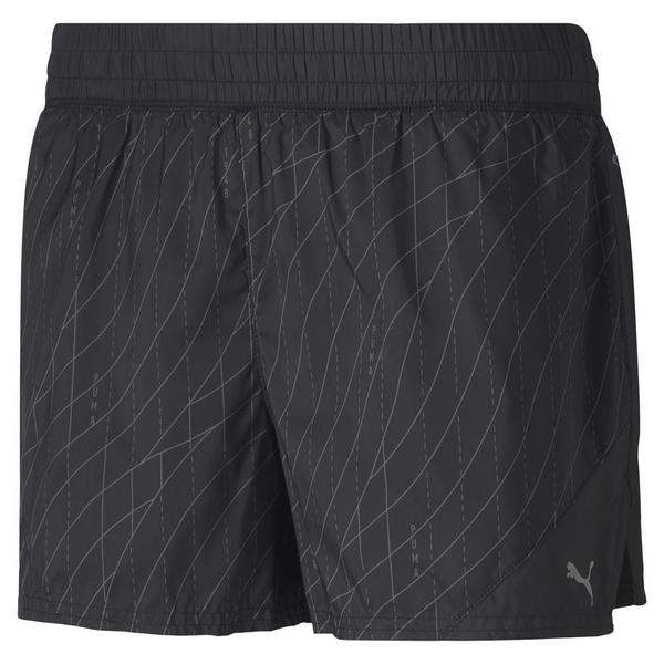 PUMA LAST LAP圖樣女款黑色3吋運動短褲-NO.51934803