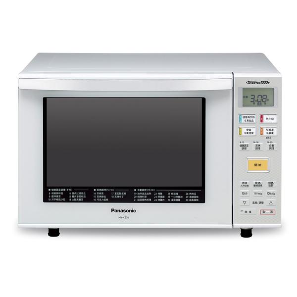 24期零利率 Panasonic 國際牌 NN-C236 烘燒烤變頻微波爐 23L 公司貨