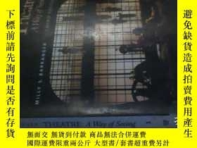二手書博民逛書店THEATRE:A罕見WAY OF SEEING【THIRD E