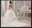 (45 Design婚紗禮服) 客製化7天到貨  新款新娘結婚禮服 新娘結婚婚紗禮服 抹胸拖尾婚紗 白色婚紗