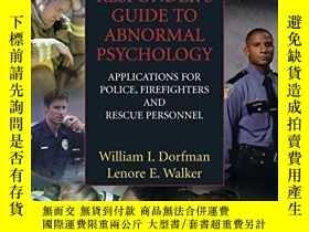 二手書博民逛書店First罕見Responder s Guide To Abnormal PsychologyY364682