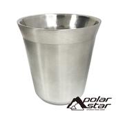 【POLARSTAR】304不鏽鋼 雙層斷熱杯 60ml P17716 咖啡杯.茶杯.保溫杯.水杯.露營.戶外.居家