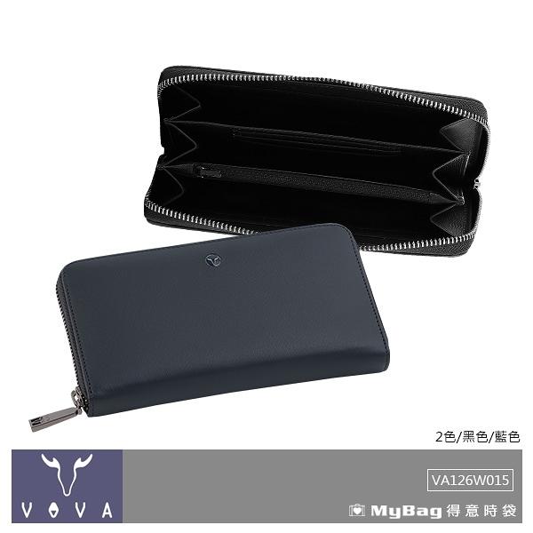 VOVA 沃汎 皮夾 高第-II系列 11卡 拉鍊長夾 VA126W015 得意時袋