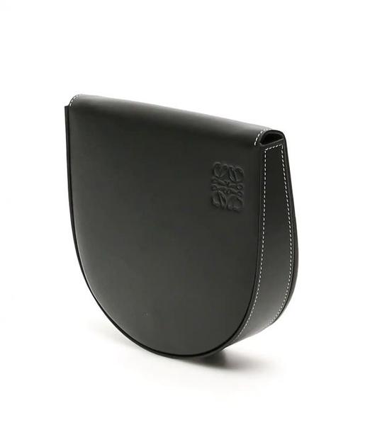 ■現貨在台■專櫃79折■ Loewe 全新真品 柔軟小牛皮 Heel包 黑色