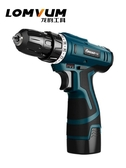 龍韻12V 鋰電鉆充電式手鉆小手槍鉆電鉆多 家用電動螺絲刀電轉雙12