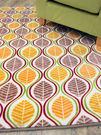 范登伯格 法蘭絨★超細柔折疊地毯-樹葉-...