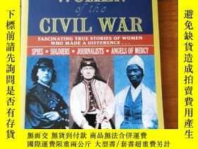 二手書博民逛書店Amazing罕見Women of the Civil War: Fascinating True Stories
