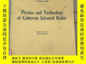 二手書博民逛書店physics罕見and technology of coherent infrared radar(P2726)