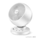 電風扇台式家用學生宿舍渦輪對流遙控靜音台扇小空氣循環扇 樂活生活館