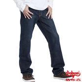 BOBSON 男款嘻哈酷中直筒牛仔褲(1677-52)
