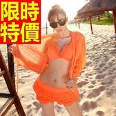 泳衣(三件式)-比基尼-音樂祭戲水沙灘必備俏麗流行女神3色56j2[時尚巴黎]