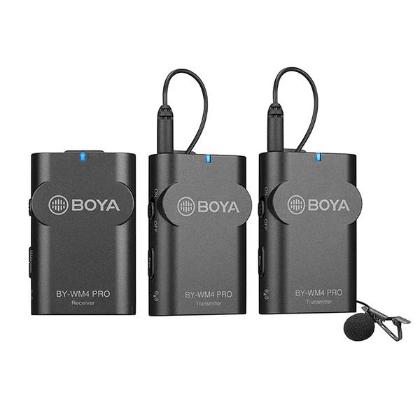 酒精濕巾X2 3C LiFe BOYA 博雅 BY-WM4 PRO-K2 數字雙通道無線麥克風 1接收2發射 (公司貨)
