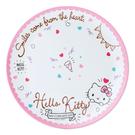 【震撼精品百貨】凱蒂貓_Hello Kitty~日本SANRIO三麗鷗 KITTY 美耐皿盤子/塑膠盤#58542
