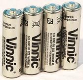 銀戰士碳鋅電池4入-3.4號