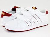 【K-SWISS】Hoke 3-Strap SP CMF休閒運動鞋-女-白/紅95458-118