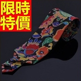 領帶 男配件-優質結婚真絲質桑蠶絲商務55g10【巴黎精品】