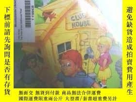 二手書博民逛書店THE罕見CASE OF THE CLUBHOUSE THIEF