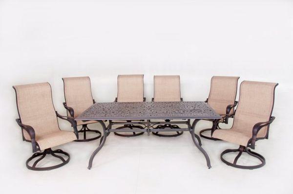 【南洋風休閒傢俱】戶外休閒桌椅系列-典藏桌椅組 戶外桌椅 餐桌椅 旋轉椅(A44Q23 A24F36)
