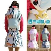 背帶雲南傳統背帶夏季嬰兒薄款背被純棉透氣網格背巾前抱後背寶寶背 大宅女韓國館