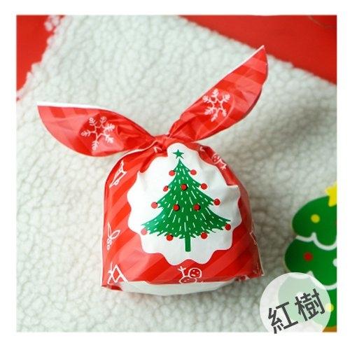 聖誕樹麋鹿兔耳朵糖果袋 烘焙餅乾袋 包裝袋 單售