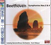 【正版全新CD清倉 4.5折】貝多芬:第二、四號交響曲 / 庫特馬舒 (指揮) 萊比錫布商管弦樂團