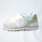 New Balance 復古鞋 慢跑鞋 D楦 ML574SCE 女款 米白x綠【iSport愛運動】