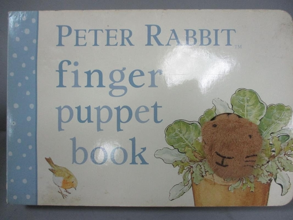 【書寶二手書T3/少年童書_GAC】Peter Rabbit Finger Puppet Book_Potter, Beatrix