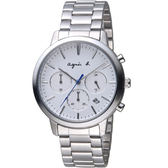 agnes b.非凡焦點計時腕錶  VD53-KJC0S BT3035X1