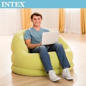 INTEX超大貝殻充氣沙發椅-蘋果綠(68577)