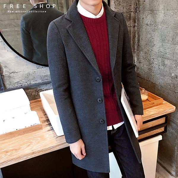修身顯瘦中長版大衣外套