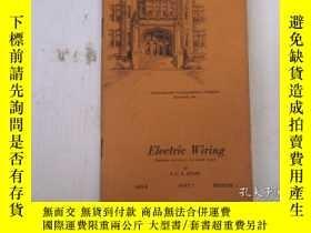 二手書博民逛書店民國:Electric罕見Wiring【USA】關於房屋建築結構等Y21905