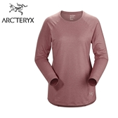 【Arc'teryx 始祖鳥】 Tolu LS 輕薄長袖圓領排汗衣 女款 摩曼粉 #20953
