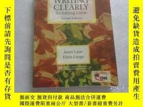 二手書博民逛書店WRITNG罕見CLEARLY An Editing Guide Second Edition 編輯指南第二版 大