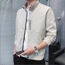 夾克外套 夾克男2021新款男士休閒外套...