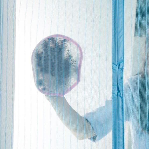 [超豐國際]紗窗門簾清潔布不掉毛吸水抹布家用紗網除塵手套加厚清潔巾