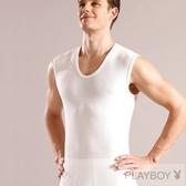 PLAY BOY 5件組台灣製100%時尚純棉羅紋寬肩背心